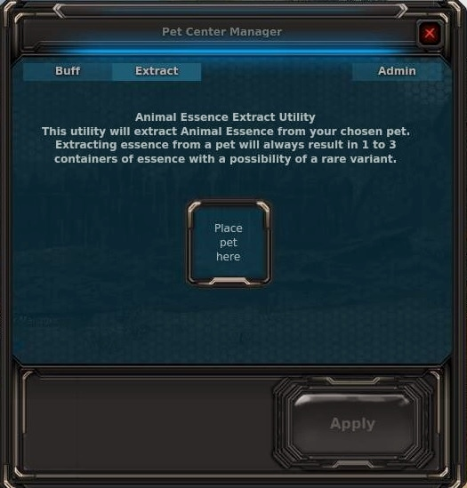 Animal Essence extract utility